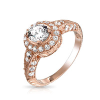 Bling Jewelry Deco Detail Ring