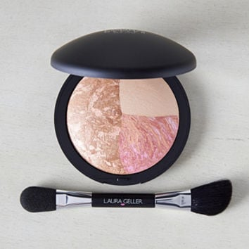 Laura Geller Baked Color & Contour Sunset Glow w/ Brush — QVC.com