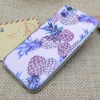 Fruits Pineapple iPhone X 6s 7 8 Plus Case Cover + Nice Gift Box