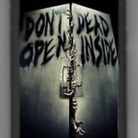 Dont open Dead Inside Walking Dead iPhone 6 Plus Cell cover - Case Black