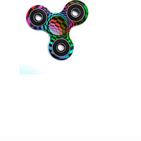 Confetti and Friends Fidget Psychedelic Spinner
