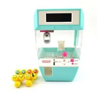 Mini Children Grab Doll Machine Claw Machine Electric Toy Catcher Alarm Clock Blue - m.tmart.com