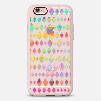 Rainbow Diamonds iPhone 6s case by Noonday Design | Casetify