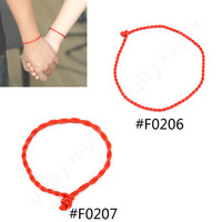 Lychee 50 pieces New Fashion Chinese style men women unisex bracelet braided lucky red string bracelet handmade weaving bracelet