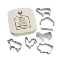 Farmhouse Cookie Cutters (Set of 6)