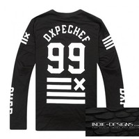 Indie Designs DXPECHEF 99 Printed Long Sleeve T-Shirt
