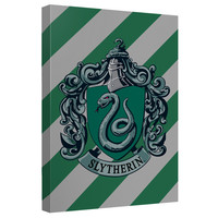 Harry Potter Slytherin Crest Canvas Wall Art Harry Potter Slytherin Crest