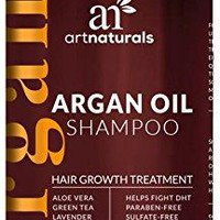 Organic Argan Oil Hair Loss Shampoo for Hair Regrowth 16 Oz - Sulfate Free - Best Treatment for Hair Loss, Thinning & - Growth Product For Men & Women - Infused with Biotin - 2016