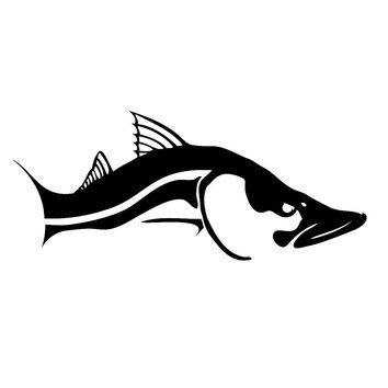 Ambush Snook Decal by Skiff Life in Black or White