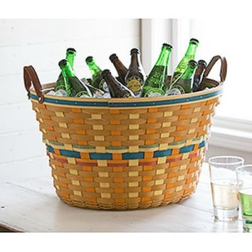 Longaberger Large Beverage Tub Basket / Protector **ON SALE**