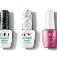 OPI - GelColor Combo - Base, Top & No Turning Back From Pink Street