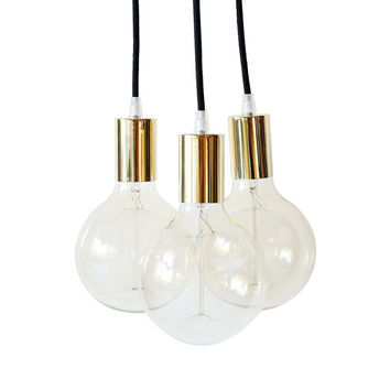 Gold Modern Chandelier Light Swag Cluster Lighting Globe Pendant Light Mid Century Golden Home Decor Industrial Hanging Light