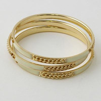 Up in Chains Gold Bracelet