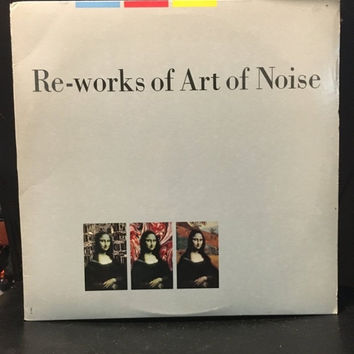 5 DAY SALE (Ends Soon) Vintage 1986 Reworks of Art of Noise Vinyl Record Good Condition