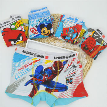 boy boxer boy underwear 3 Pcs/lot Boy Underwear Kids Panties Child's Underpants Shorts For boy Children's Boxer Cbubx001-3p