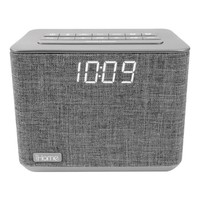 iHome Bluetooth Dual Alarm FM Clock Radio with Speakerphone & USB Charging (iBT232) | null