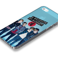 5 Seconds of summer, 5SOS  iPhone 5 5S case, iPhone 4 4S case, Free shipping M-480