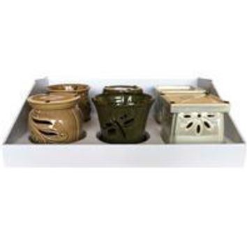 Southern Patio - Orchid Pot 3 Planter Tray Pack