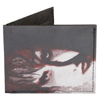 Gothic God Post Punk Original Art Tyvek Wallet