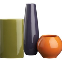 3-Piece Elio Vase Set in New Accessories | Crate&Barrel