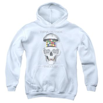 Rubik's Cube - Outside The Cube Youth Pull Over Hoodie