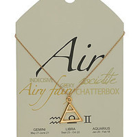 Air Symbol Necklace - Jewelry  - Accessories
