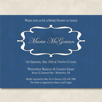 PRINTABLE Custom Party Invitations, Bridal Shower Invitations, Baby Shower Invitations, Wedding Invitations