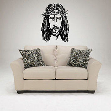 Christianity Wall Decal Jesus Christ Son of God Prayer Wall Sticker Decal 3708