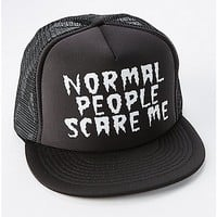 Normal People Scare Me Trucker Hat - Spencer's