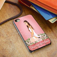 Ariana Grande's 'Yours Truly' - for iPhone 4/4s, iPhone 5/5S/5C, Samsung S3 i9300, Samsung S4 i9500 Hard Case *ojoturuwaecok*