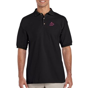 When Pigs Fly Embroidered Polo Shirt