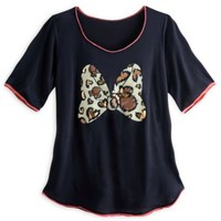 Minnie Mouse Bow Fashion Tee for Women