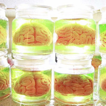 Brain Specimen Candle