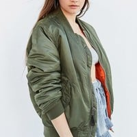 Alpha Industries MA-1 Bomber Jacket   Urban Outfitters