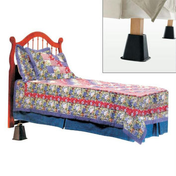 Acid Reflux Relief Bed Riser System by Remedy -2 PACK