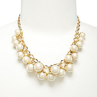 kate spade new york Petaled Pearls Necklace - Cream