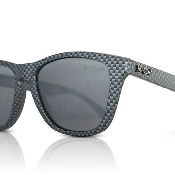 Carbon Fiber Polarized Black Lens