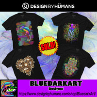 BluedarkArt • #Steampunk #Style & #Psychedelic #Tshirts SOLD on...