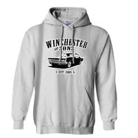 supernatural WINCHESTER SONS Car Mens Hoodie and Womens Hoodie Fast Shipping to USA