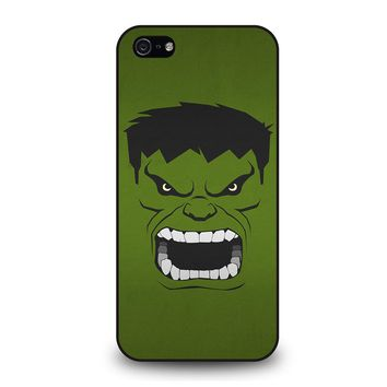 HULK MARVEL COMICS MINIMALISTIC iPhone 5 / 5S / SE Case