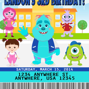 Monsters Inc Birthday Party Favors