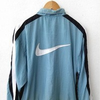 ON SALE Vintage 90's NIKE Swoosh Big Logo Air Jordan Michael Jordan Basketball Nba Swe