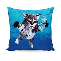 ROCP Cat Cobain Couch Pillow