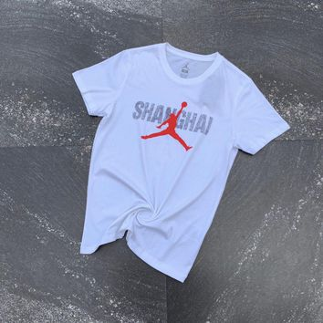 KUYOU air jordan AJ flying T-shirt