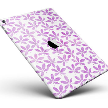 "The Vibrant Pink and Purple Leaf Full Body Skin for the iPad Pro (12.9"" or 9.7"" available)"