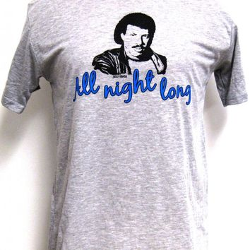 Lionel Richie T-shirt - All Night Long Gray Shirt. Men's