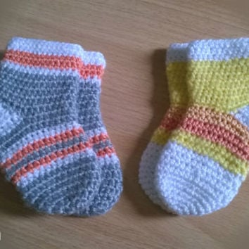 Crochet Baby Knee Socks Pattern Pakbit For