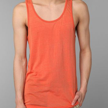 LASC- Burnout String Tank-Orange