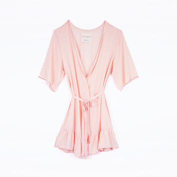 The Gin & Tonic Robe - Coral