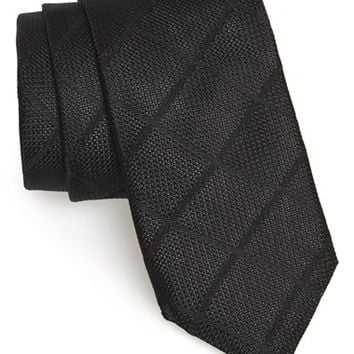 Men's Todd Snyder White Label Windowpane Silk Tie, Size Regular